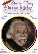 Einstein - Static Cling Window Sticker