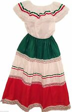 NWOT Women's Mexican Elastic XXL Skirt & Blouse  For Any Mexican Occasion-DT#2X