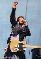 BRUCE SPRINGSTEEN PHOTO 1985 UNRELEASED NEWCASTLE UK UNIQUE IMAGE HUGE 12 INCHS