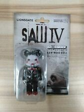 Medicom Toy SAW 4 IV Wood Doll Bearbrick 100% Be@rbrick Figure