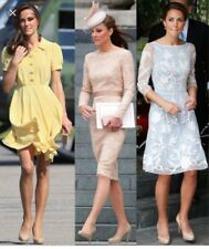 L.K Bennett Nude Leather Pumps Size 41 Heels Princess Kate Royal Wedding