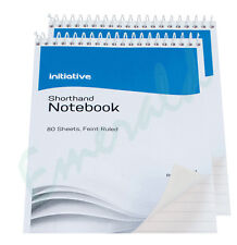 "2 x 160 Page Notepad Notebook Shorthand Pad 8"" x 5""- Same Day Dispatch"