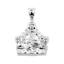 Buddha Pendant Sterling Silver