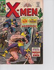 X-Men  #38 (Origins of X-Men begins FN/VF  7.0) Nov-1967,  Marvel
