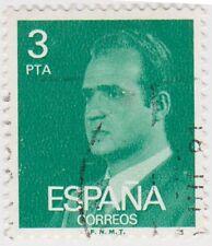 (SPB184) 1976 SPAIN 3p green king Carlos ow2396
