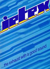 Jetex Exhaust Catalogue 1998