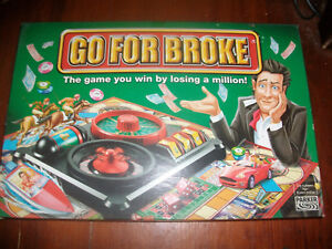 Go For Broke 2004 Spare Parts Pieces Money Horses Hotels Spinner Corks etc