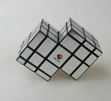 Cubetwist  Mirror Cube 2 Conjoined Magic Cube 3X3X3 Puzzle Twist Toy Gift