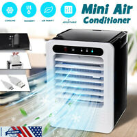 Portable Mini Fans USB Air Cooler Air Conditioner For Summer Office Desktop Fans