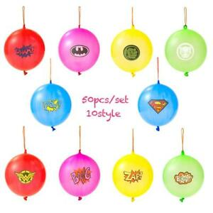 "50-Pack of  punch balloons  Superhero Punching Ball Balloons  - 18"" Inch"