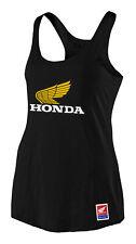 Troy Lee Designs 2021 Women's Honda Retro Victory Wing Tank Black All Sizes