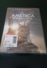 America: The Story of Us (DVD, 2010, 3-Disc Set) Brand New Free Shipping (Cl1)