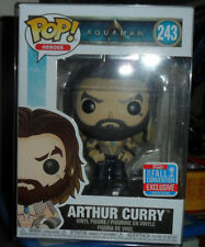 FUNKO POP HEROS AQUAMAN # 243 Arthur Curry (Shirtless) [Fall Convention]