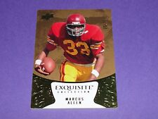 2014 Exquisite MARCUS ALLEN #6 Premium College SP/75 USC Trojans Raiders-Chiefs