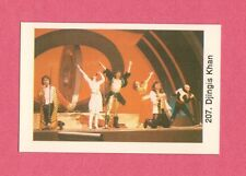 Dschinghis Khan Vintage 1970s Pop Rock Music Card from Sweden #207