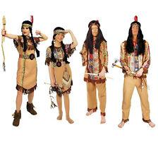 Indianer Indianerin Kostüm Damen Kleid Herr Kinder Junge Indianerkostüm Mädchen