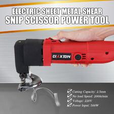 220V 500W Snip Scissor Cutter Power Tool Professional Electric Sheet Metal Shear
