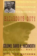 Hazardous Duty by Hackworth, David H