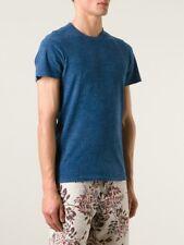 Simon Miller Blue Cotton Silk Short Sleeve Garcon TShirt Size 2 NEW