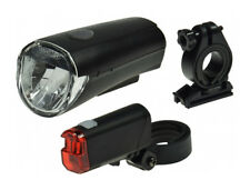 "Fahrrad LED-Beleuchtungsset ""CFL 30"" 30Lux, StVZO zugelassen, ink. 12 X AAA Bat."