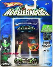 HOT WHEELS 2005 ACCELERACERS RD-03 #3/9 FACTORY SEALED W+