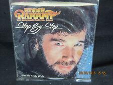 Eddie Rabbitt - Step By Step & My Only Wish - Elektra Records 45 RPM