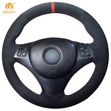 DIY Suede Steering Wheel Cover for BMW E90 320i 325i 330i 335i E87 120i #01117