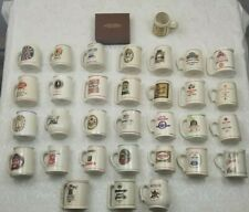 Vintage 1980-'82 Franklin Mint Official Tankards Of The World'S Great Breweries