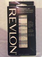 REVLON NAIL ART 3D JEWEL APPLIQUES DENIM & DIAMONDS 07 PRETTY IN PUNK LACE STICK