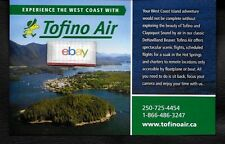 TOFINO AIR  DE HAVILLAND BEAVER TO TOFINO CLAYQUOT SOUND CANADA AD