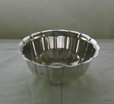 Silver Rose Bowl Fluted