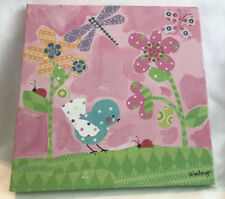Oopsy Daisy Too Fine Art for Kids Pretty Pink Flower By Winborg Sisters 10x10