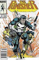 Punisher Comic Issue 19 Copper Age First Print 1989 Mike Baron Portacio Williams