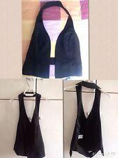 Gilet noaut sexy nero 42 S made in italy small vest waistcoat sleeveless fashion