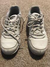 Girls, Asics, Cheer Sneaker, Size 5, White
