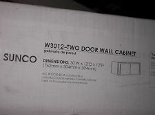 Sunco 30x18 2 Door Oak Cabinet W3012