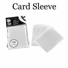 100pcs/pack 65*90mm Game CPP Matrial Clear Dustproof Card Sleeves Transparent