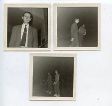 Original 1953 New York Knicks Snapshot 3 1/2 X 3 1/2 Photos 3 Different