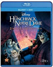 The Hunchback of Notre Dame 1 2 Blu_ray + DVD Quasimodo Disney Set Animated Lot