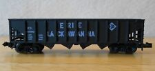N scale open hopper EL Erie Lackawanna NIB AHM Minitrains 4371