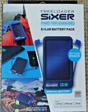 Freeloader Sixer Weatherproof Tough Solar Power Battery Recharger iphone Android
