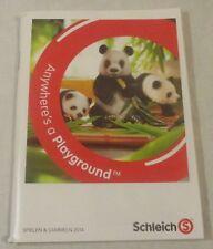 Schleich Katalog Prospekt Werbeheft von 2014 Anywhere's a Playground Spielen