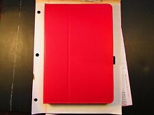 Moko Zj Nexus 9 Tablet Folio Stand Book Cover Case RED w/strap! LOT of 50