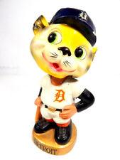 1967 Sports Specialties Detroit Tigers Mascot Nodder Bobblehead Gold Base Japan