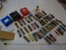 HUGE lot Tech Deck finger boards Tony Hawk figure ramps pieces RARE almost stick