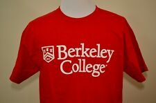 Berkeley College t-shirt red large