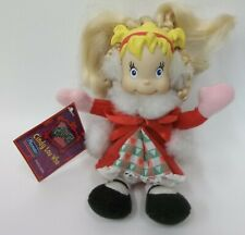 "2000 Playmates Cindy Lou Who 7"" Doll - The Grinch Who Stole Christmas - With Tag"