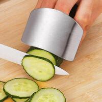 Stainless Steel Finger Hand Guard Finger Protector Knife Slice Chop Safe Slice