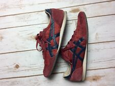 Asics Onitsuka Tiger Mens Size 9 Serrano D109L Red Sneaker Shoes Track & Field