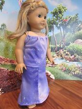 "homemade 18"" american girl/madame alexander 2 piece skirt/top knit doll clothes"